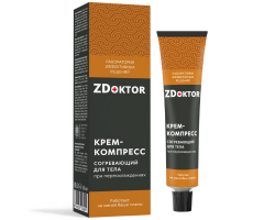 ZDoktor Крем-компресс согревающий при переохлаждениях, 60 мл.