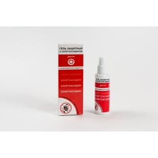 Гель защитный с хлоргексидином объём: 50, 100 и 150 мл